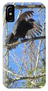 Attack Of The Turkey Vulture IPhone Case