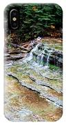 Au Train Falls II IPhone Case