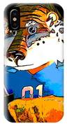 Auburn Tiger IPhone Case