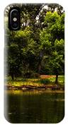 August By The Fountain IPhone Case