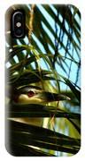 Auku'u The Black Crowned Night Heron IPhone Case