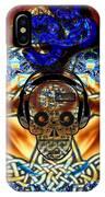 Aum Skull Jamming IPhone Case