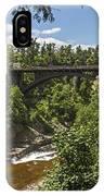 Ausable Chasm Bridge IPhone Case