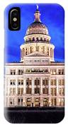 Austin State Capitol Building, Texas - IPhone Case