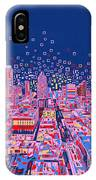 Austin Texas Abstract Panorama IPhone Case