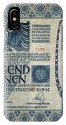 Austria Banknote, 1902 IPhone Case
