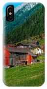 Austrian Village IPhone Case