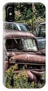 Auto Junk Yard IPhone Case