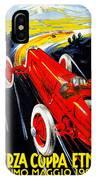 Automobile Club Catania IPhone Case