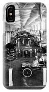 Automobile Display, 1904 IPhone Case