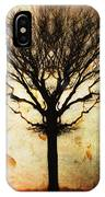 Autum Wind IPhone Case