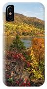 Autumn Along The Hudson IPhone Case