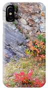 Autumn And Rocks IPhone Case