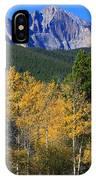 Autumn Aspens And Longs Peak IPhone Case