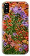 Autumn Asters IPhone Case