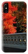 Autumn At Bow Bridge IPhone Case