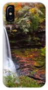 Autumn At Dry Falls - Highlands Nc Waterfalls IPhone Case