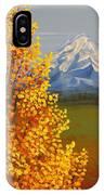Autumn At Mt Shasta IPhone Case