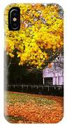 Autumn At Old Mill IPhone Case