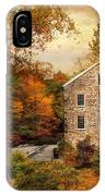 Autumn At Stone Mill IPhone Case