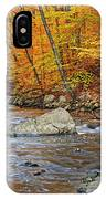 Autumn At The Black River IPhone Case