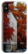 Autumn At The Grants Pass Courthouse IPhone Case