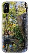 Autumn At The Waterfall IPhone Case