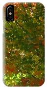 Autumn  Banner IPhone Case