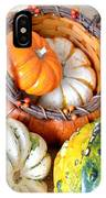 Autumn Basketful IPhone Case
