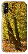 Autumn Beeches IPhone Case