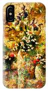 Autumn Bounty - Abstract Expressionism IPhone Case