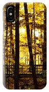 Autumn Bridge I IPhone Case