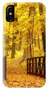 Autumn Bridge II IPhone Case