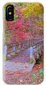 Autumn Bridge IPhone Case