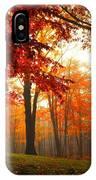 Autumn Canopy IPhone Case