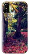 Autumn Carpet In The Enchanted Wood IPhone Case
