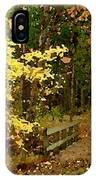 Autumn Color IPhone X Case