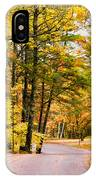 Autumn Colors - Colorful Fall Leaves Wisconsin - II IPhone Case