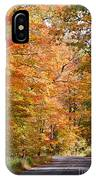Autumn Colors - Colorful Fall Leaves Wisconsin IIi IPhone Case