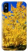 Autumn Colors Gingko Tree  IPhone X Case