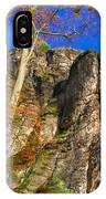 Autumn Colors In The Saxon Switzerland IPhone Case