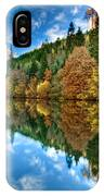 Autumn Colour Staindale Lake IPhone Case
