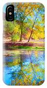 Autumn Colours In Moab IPhone Case