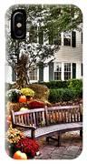 Autumn Display At The Sagamore Resort IPhone Case