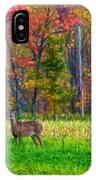 Autumn Doe - Paint IPhone Case