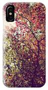 Autumn Dresses In Flame And Gold IPhone Case