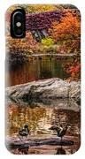 Autumn Duck Couple IPhone Case