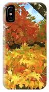 Autumn Extravaganza IPhone Case