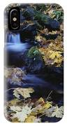 Autumn Fall Colors Starvation Creek State Park IPhone Case