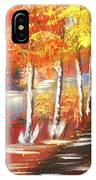 Autumn Falling Leaves  IPhone Case
